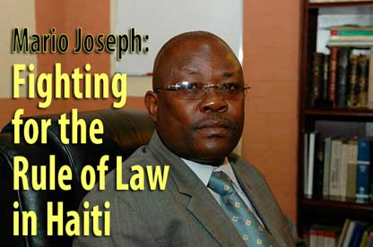 Fighting for the Rule of Law in Haiti — April 25, 2007