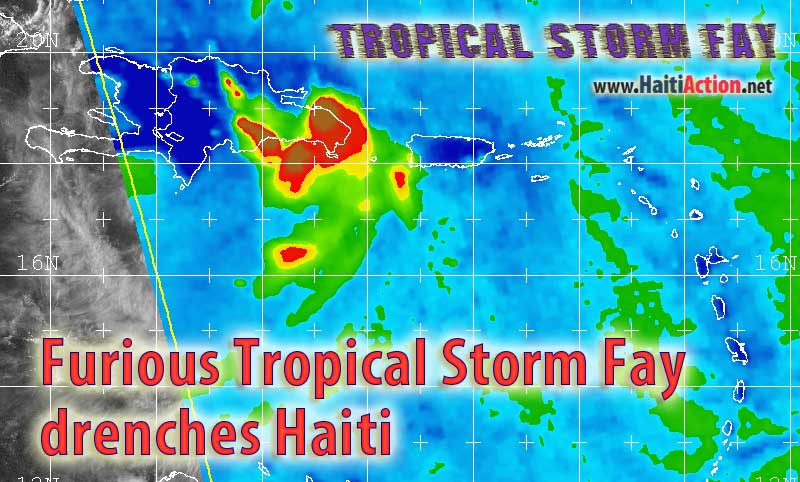 Furious Tropical Storm Fay drenches Haiti - August 15, 2008